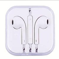 Наушники с микрофоном Apple EarPods with Lightning Connector , на iPhone iPod iPad, со стереозвуком, гарнитура