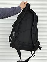 Якісний тактичний рюкзак (40 л) чорний, фото 3