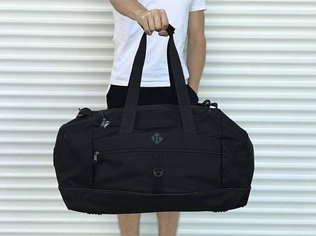 Большая дорожная сумка, черная (60 л.), фото 2