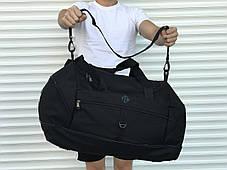 Большая дорожная сумка, черная (60 л.), фото 3
