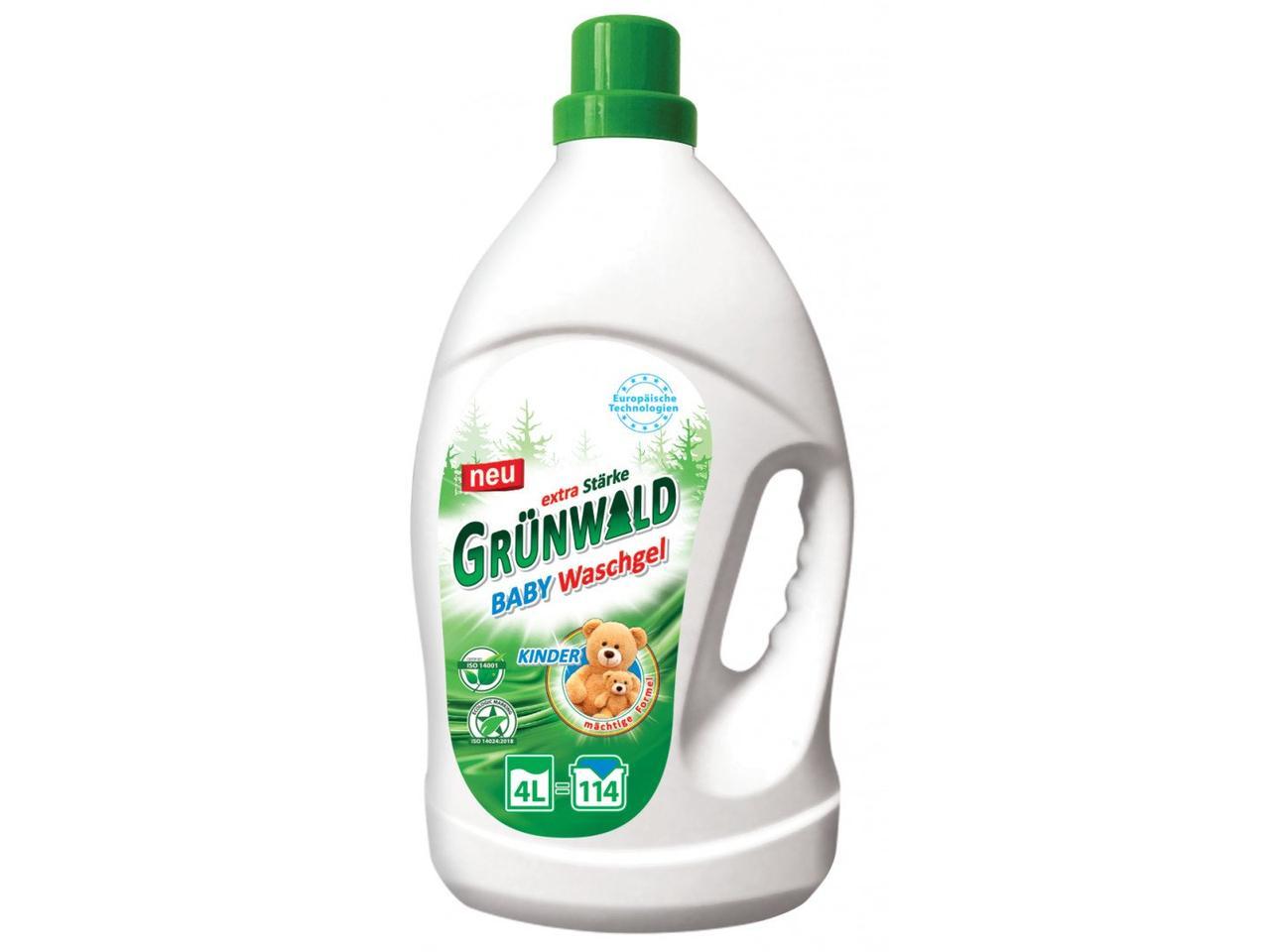 Гель для прання GRUNWALD для детской одежды 4 л 114 циклов