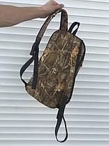 Чорний спортивний рюкзак, очерет, фото 3