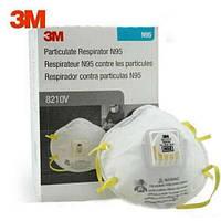Респиратор (защитная маска лицевая) 3M Cool Flow 8210V Respirator