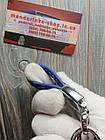 Брелок автомобильный кожаный (качественный) KIA (Kia), фото 3