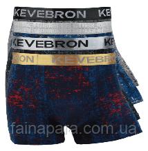 Мужские трусы боксеры с широкой резинкой Kevebron