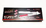Утюжок, Випрямляч, Гофре для волосся зі змінними насадками Gemei GM2913T, фото 4