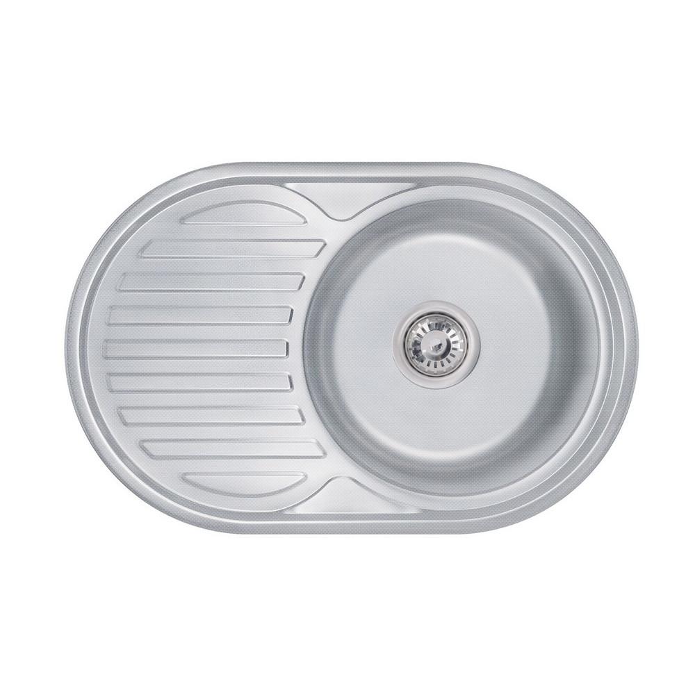 Кухонна мийка Lidz 7750 Decor 0,6 мм (LIDZ775006DEC)