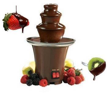 Шоколадный фонтан Фондю - Mini Chocolate Fondue Fountain