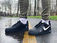 Кросівки натуральна шкіра Nike Air Force Найк Аір Форс (42,43,44,45) 43