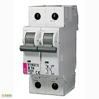 Авт. выключатель ETIMAT 6  1p+N С 25А (6 kA)