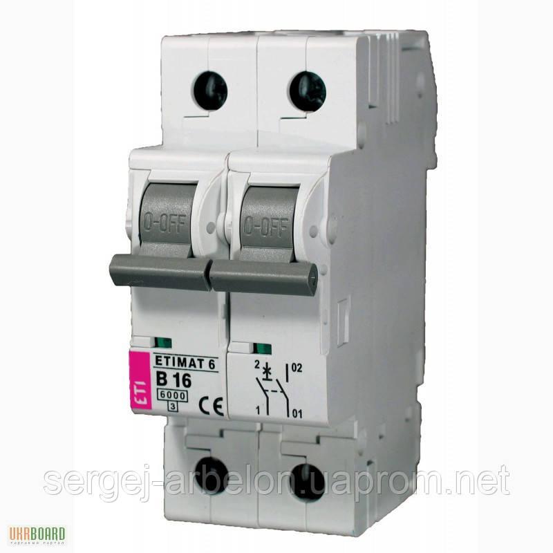 Авт. выключатель ETIMAT 6  1p+N С 32А (6 kA)