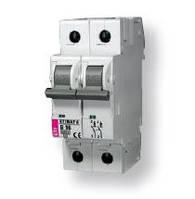 Авт. выключатель ETIMAT 6  2p В 6А (6 kA)