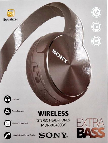 Бездротові блютус навушники Sony MDR-XB400BY replica