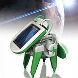 Конструктор Робот 6 в 1 на сонячній батареї Robot Kits, фото 4