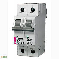 Авт. выключатель ETIMAT 6 1p+N (1мод.) С 25А (6 kA)
