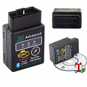 Діагностичний сканер адаптер ELM327 Bluetooth Advanced
