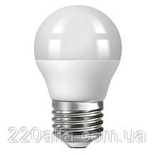 Светодиодная лампа Ecolux шарик E27 4W 4000K