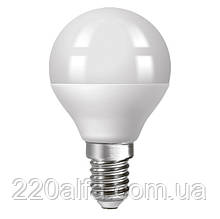 Светодиодная лампа Ecolux шарик E14 6W 4000K
