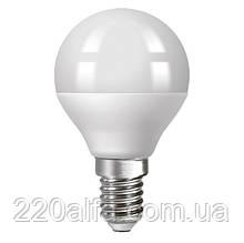 Светодиодная лампа Ecolux шарик E14 8W 4000K