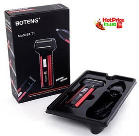 Електробритва Boteng BT-T1 акумуляторна 3 насадки для гоління, стрижка волосся, тример для носа