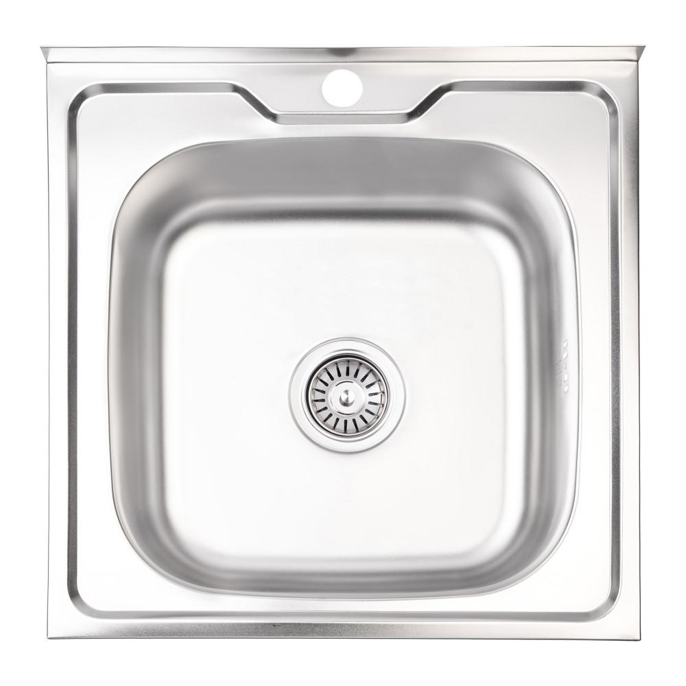 Кухонна мийка Lidz 5050 Polish 0,6 мм (LIDZ5050POL06)