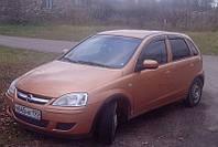Ветровики на Opel Corsa C 5d 2000-2006