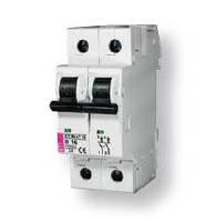Авт. выключатель ETIMAT 10  2p D 10А (10 kA)