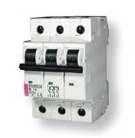 Авт. выключатель ETIMAT 10  3p C 1,6А (10 kA)