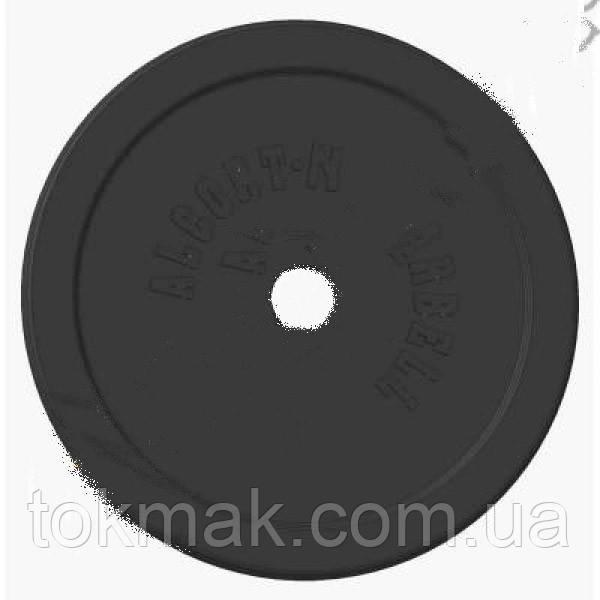 Блины (диски) обрезиненные 30мм 1,25кг;  2 кг; 5 кг; 7,5 кг; 10 кг; 15 кгТА-1441