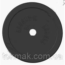 Блины (диски) обрезиненные 52мм 5 кг; 7,5кг; 10кг; 15кг; 20кг ТА-1447