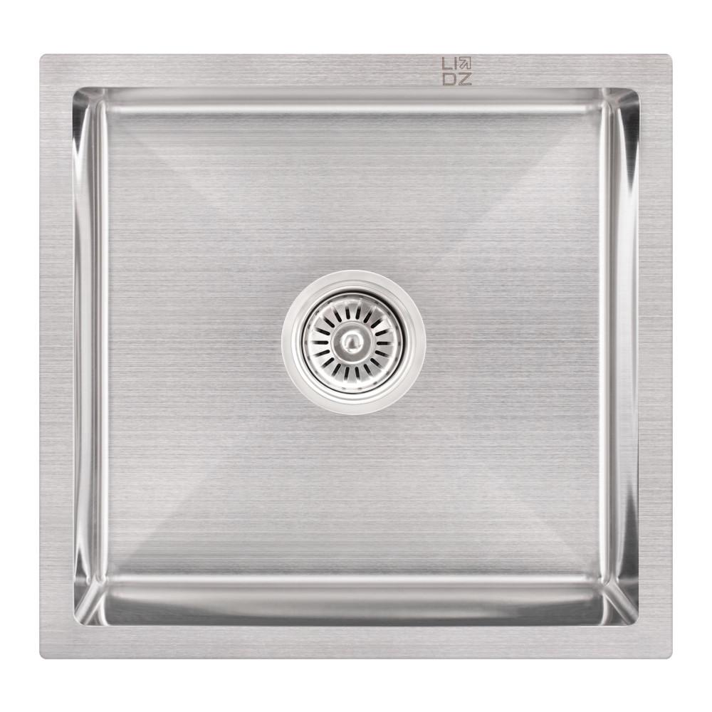 Кухонная мойка Lidz H4745 3.0/1.0 мм Brush (LIDZH4745BRU3010)