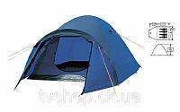Палатка 4-х местная FRT-211-4 (120+210)*245*130см (полиэстер 190T, дно PU 800мм, с тентом,швы прокл)