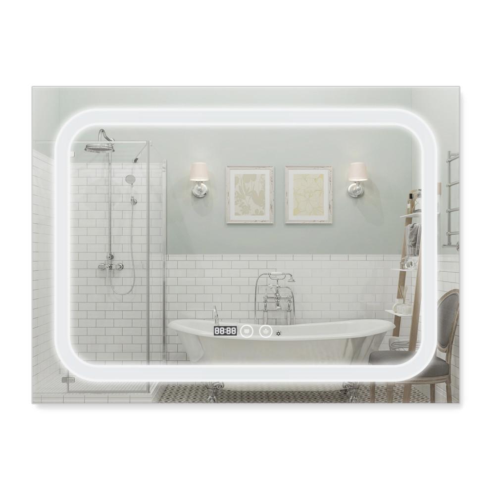 Зеркало Qtap Mideya 800х600 (DC-F906) с LED-подсветкой и антизапотеванием QT2078F906W