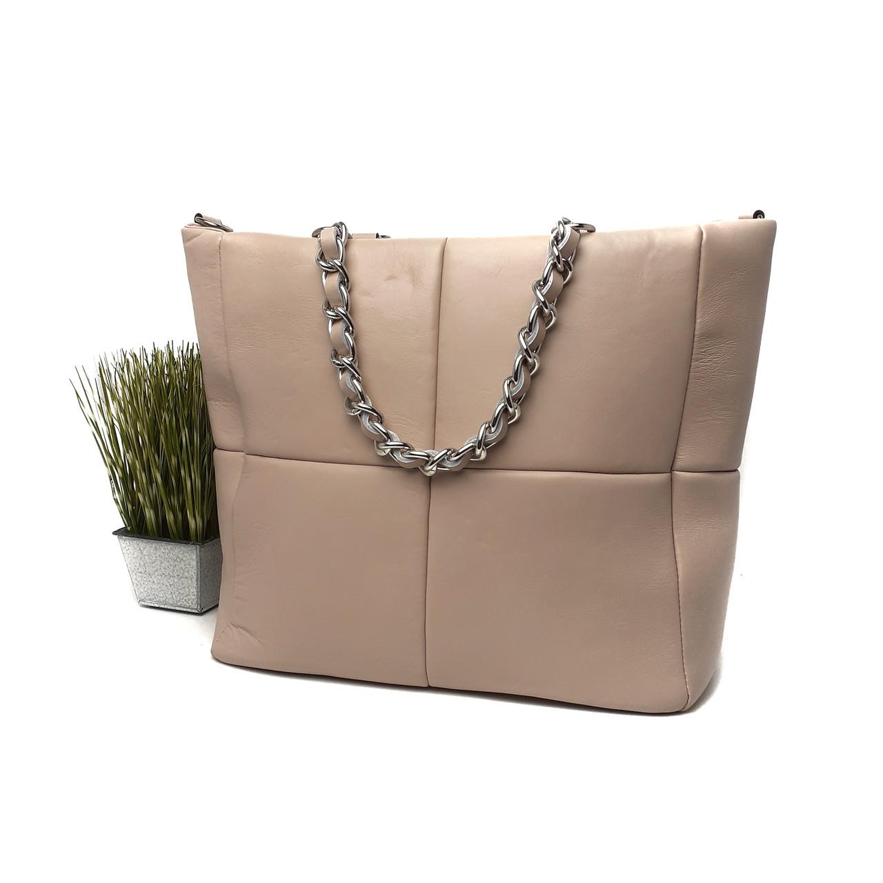 Жіноча сумка новинка квадратами Арт.4135 ( BB) V. P. Італія