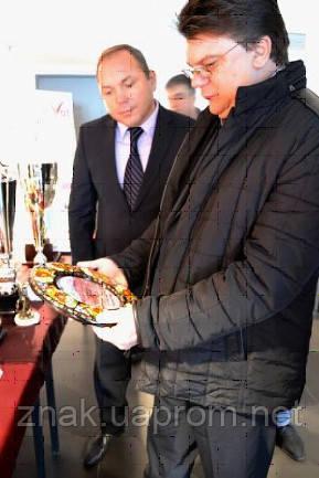 Компания Знак приняла участие в Ярмарке наград для спортсменов