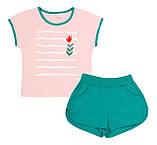 Літній костюм для дівчинки. КС 656, фото 2