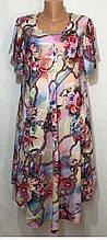 Платье-сарафан  штапельное,2236