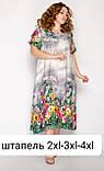 Штапельное платье длинное, фото 2