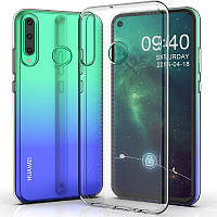 TPU чехол Epic Transparent 1,0 mm для Huawei P40 Lite E / Y7p (2020)