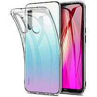 TPU чехол Epic Transparent 1,0 mm для Xiaomi Redmi Note 8T