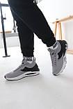 Чоловічі сірі текстильні кросівки Under Armour Hovr Phantom, фото 3