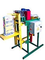 Дозатор шнековый (полуавтомат) для упаковки пылящих и трудносыпучих продуктов (цемента, с муки,и т.п.)