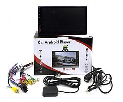 """Автомагнітола 2DIN Lesko 8700U екран 7"""" на Android 1024х600 потужність 4х60 Вт microSD Wi-Fi GPS"""