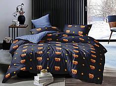 Полуторный комплект постельного белья 150*220 сатин (16781) TM КРИСПОЛ Украина