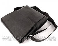 Мужской кожаный мессенджер Tiding Bag NM22-111A, фото 5