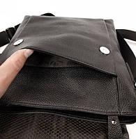 Мужской кожаный мессенджер Tiding Bag NM22-111A, фото 10