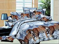 Двуспальный комплект  Зимняя пантера