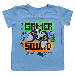 Футболка літня для хлопчика Gamer 64 (116см-122см)