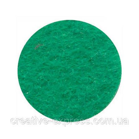 Фетр листковий (поліестер), 21,5х28 см, Зелений світлий, 180г/м2, ROSA Talent, фото 2