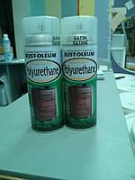 Лак для дерева аэрозольный полиуретановый VARATHANE Polyurethane (США) 312gr